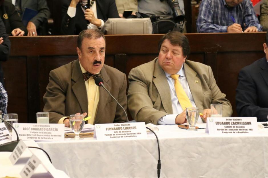 El diputado Eduardo Zachrisson presentó la iniciativa este lunes. (Foto: Alejandro Balán/Soy502)