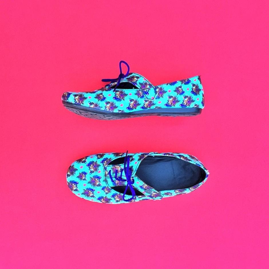 Puedes escoger los diseños de tus artistas favoritos, en el estilo de zapatos que desees y Wandelust te ofrezca. (Foto: Wonderlust)
