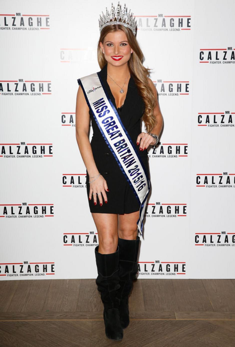 Zara Holland era hasta ahora Miss Reino Unido. (Foto: Zara Holland)