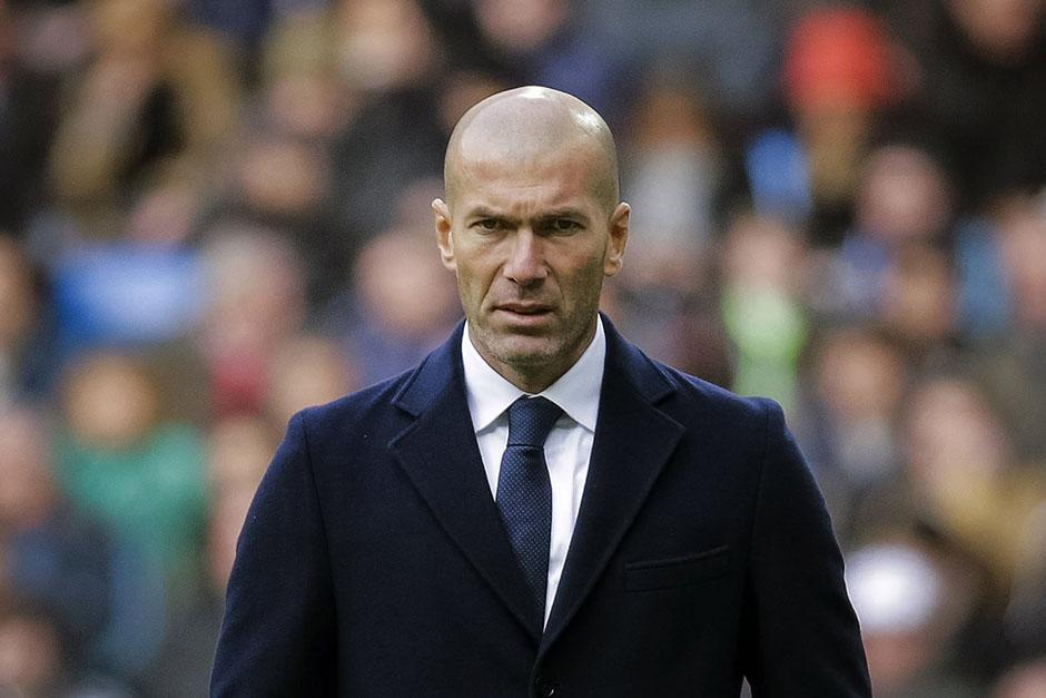 Zidane empezó con buen pie en el banquillo del Madrid, dos partidos y dos goleadas. (Foto: EFE)