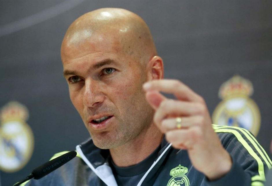 Zidane en conferencia de prensa foto