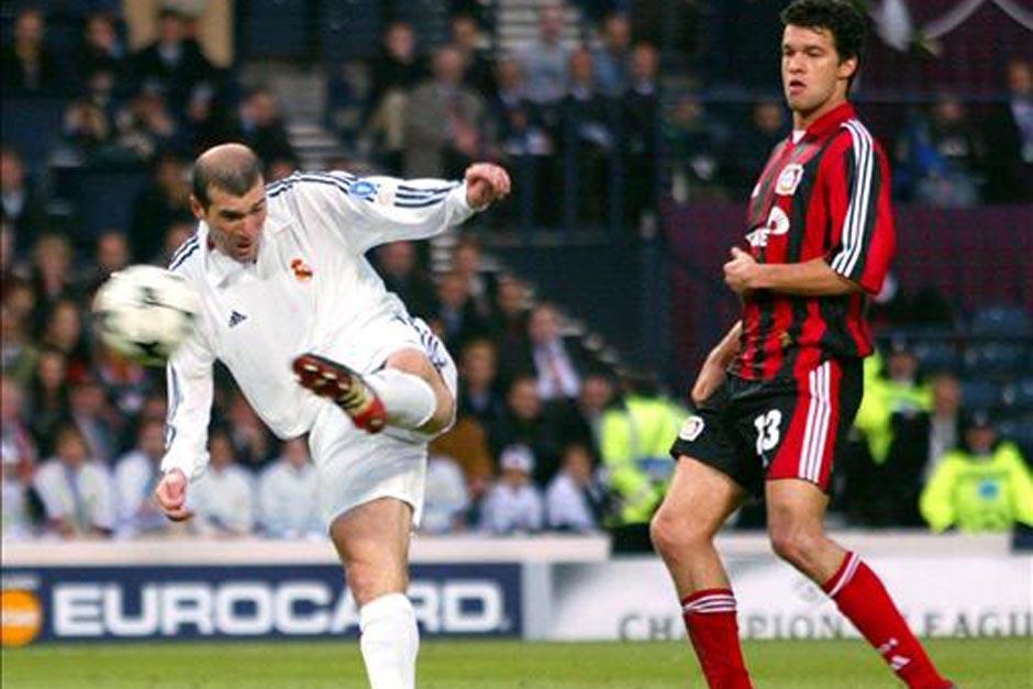 """Este remante de """"Zizou"""" significó un golazo ante el Leverkusen y el noveno título de Liga de Campeones para el Madrid."""