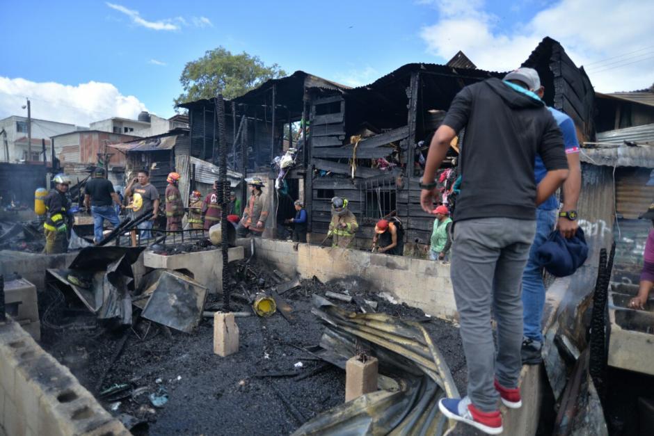 Esta es la panorámica del lugar donde vive gente de escasos recursos económicos. (Foto: Wilder López/Soy502)