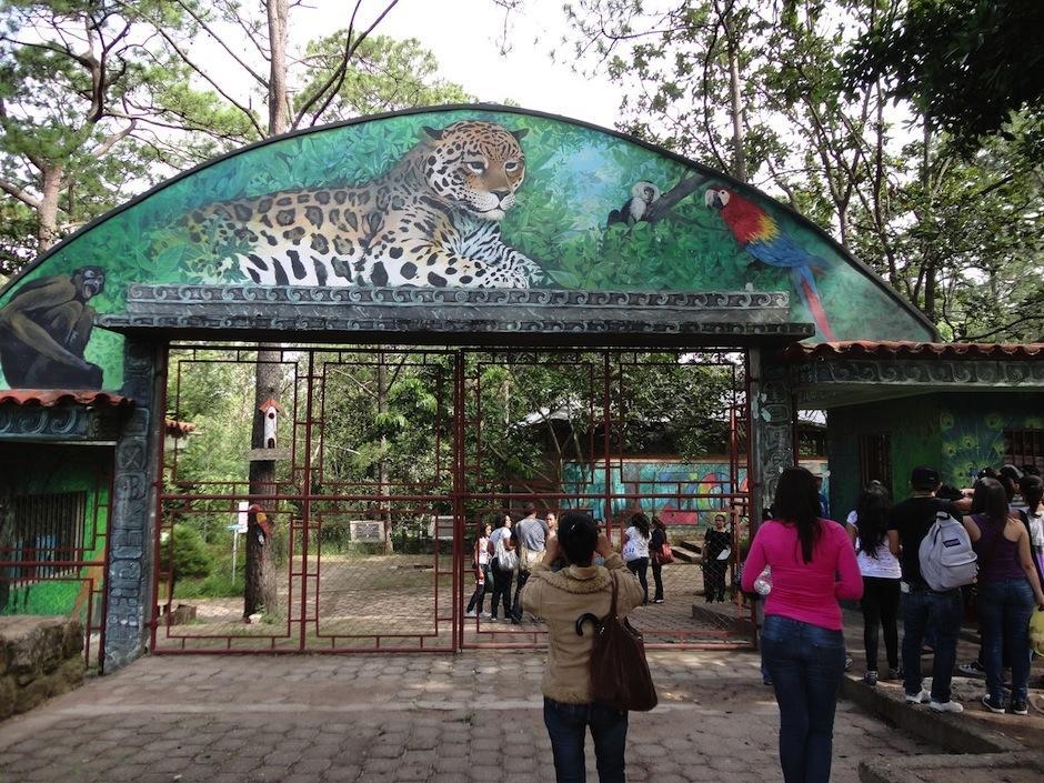 El Zoológico Metropolitano Rosy Walther es el primer zoológico de Honduras, alberga más de 300 animales. (Foto: medinaarmando.blogspot.com)