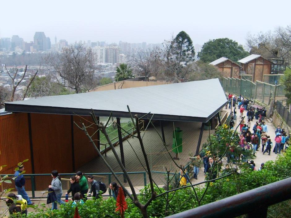 El Zoológico nacional del parque metropolitano en Chile cuenta con mil animlae.s (Foto: wikiwand.com)