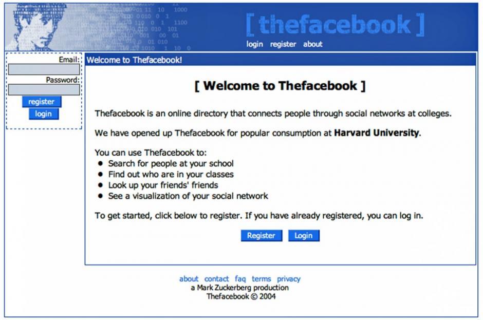 Al año siguiente, basado en su experiencia, creó TheFacebook. (Foto: businessinsider.com)