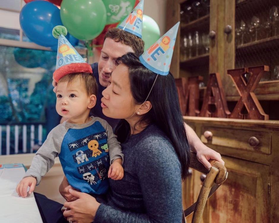 La familia más influyente del mundo virtual está de fiesta. (Foto: Mark Zuckerberg)