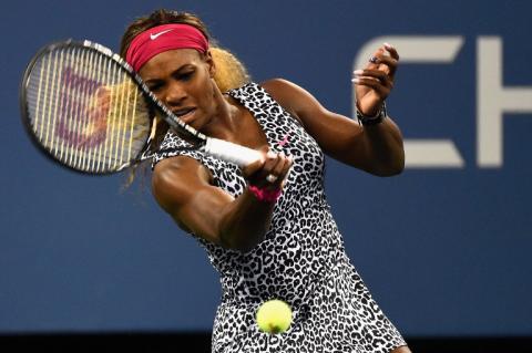 Serena Williams presente en su sexta semifinal consecutiva