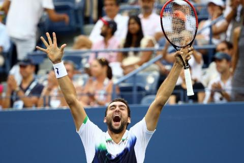 Nishikori y Cilic por una final inédita del US Open de tenis