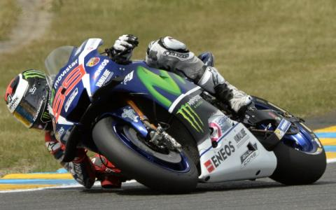 Jorge Lorenzo se impone en el Gran Premio de Francia de MotoGP