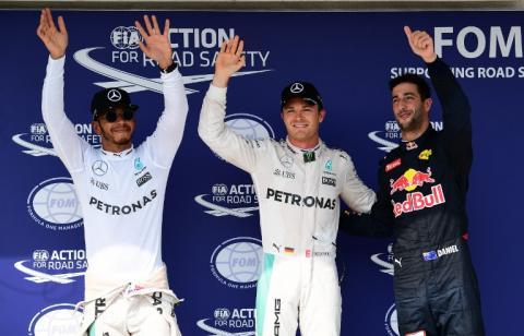 Nico Rosberg saldrá primero en el Gran Premio de Hungría