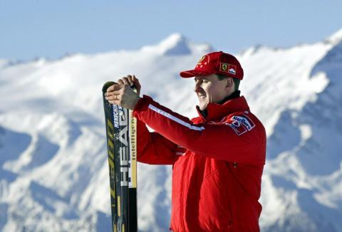 Schumacher es trasladado sin riesgos ni muchas esperanzas