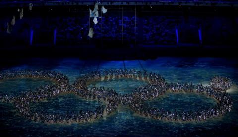 Clausura de Sochi comienza con un guiño al error de la inauguración