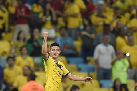 Oficial: el mejor gol del Mundial es de James Rodríguez