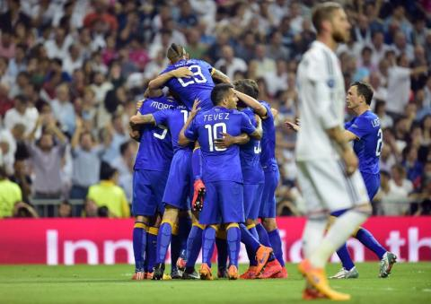 Juventus a la final tras empatar ante el Madrid en el Bernabéu