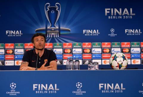 Luis Enrique y Neymar con sentimientos encontrados previo a la final