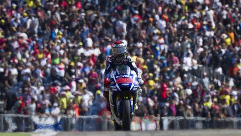 Jorge Lorenzo gana el Gran Premio de Aragón de Moto GP