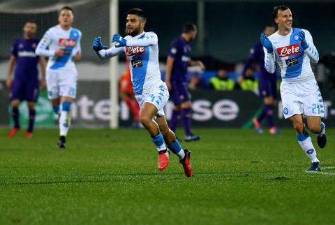 El tiro perfecto existe: golazo al ángulo de un jugador del Napoli
