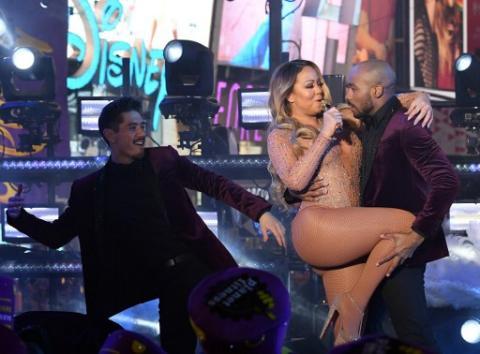 La desastrosa actuación de Mariah Carey en celebración de Nueva York
