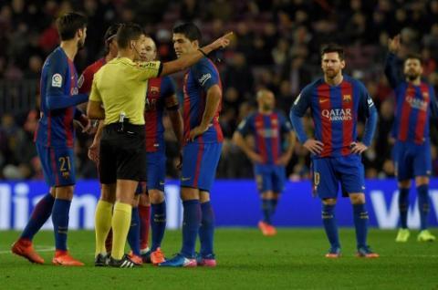 Luis Suárez se pierde la final de la Copa del Rey