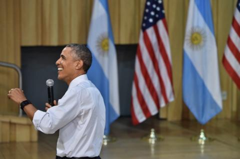 Obama quiso conocer a Messi en su viaje a Argentina pero no lo logró