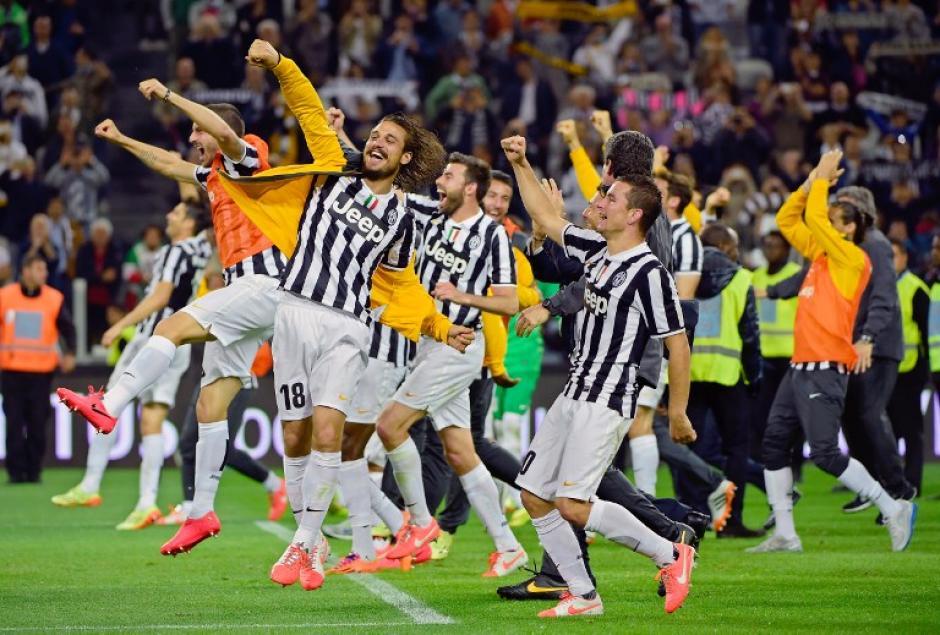 La Juventus supera al Atalanta y es tricampeona del Calcio italiano