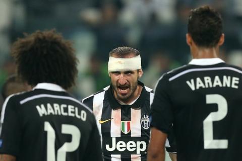 Chiellini se lesionó y es duda a tres días de la final de la Champions