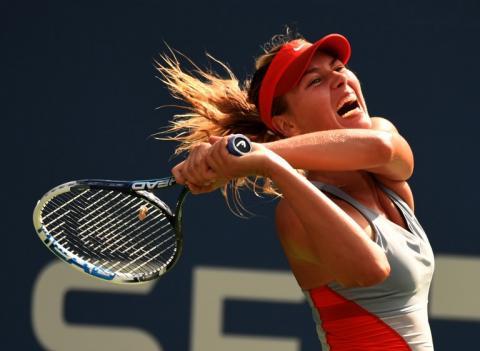 Sharapova cae en octavos de final del US Open ante Wozniacki