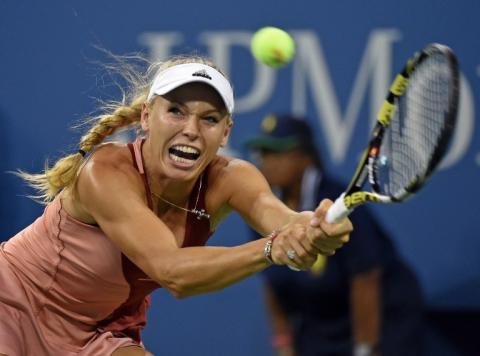 Wozniacki dice presente en las semifinales del US Open