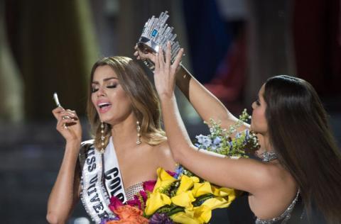"""Ariadna Gutiérrez: """"Yo soy la verdadera Miss Universo"""""""