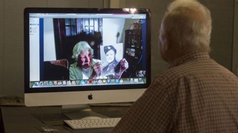 Luego de 70 años, exnovios se reencuentran gracias a internet