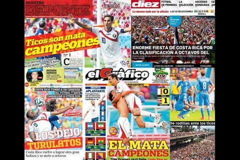 Anuncian libro sobre la selección de Costa Rica en Brasil 2014