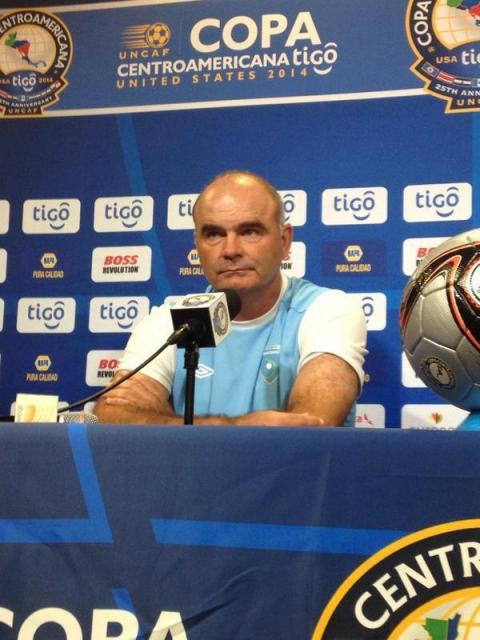 """Sopegno: """"No es fácil ponerse la camisola de Guatemala y ganar"""""""