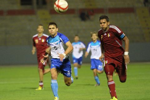 Selección de fútbol jugará semifinales ante Colombia en los Bolivarianos