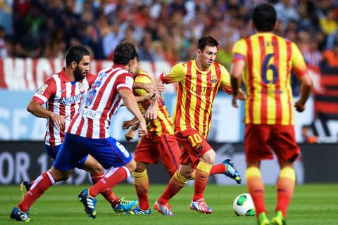 Duelo de líderes, el Barcelona y el Atlético se juegan la Liga