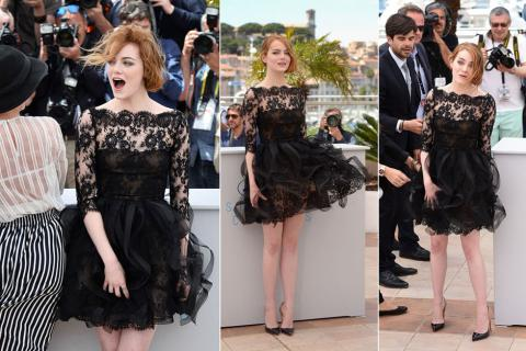 Emma Stone y su descuido más sexy en Cannes