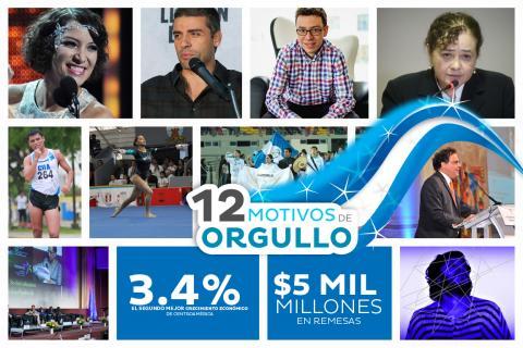 """Los 12 motivos de orgullo """"Soy 502"""" para Guatemala en 2013"""
