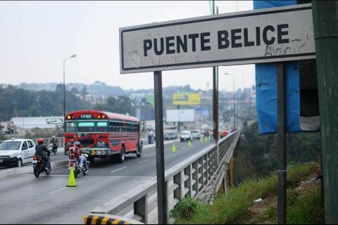 Gobierno construirá otro puente para evitar colapso de Puente Belice