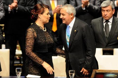 Ya hay fecha para que Otto Pérez y Roxana Baldetti se reencuentren