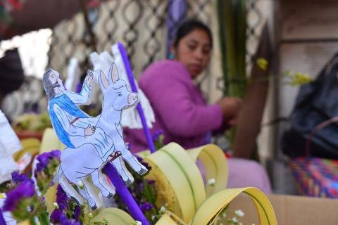 Jesús de la Borriquita marca el comienzo del fervor por la Pascua