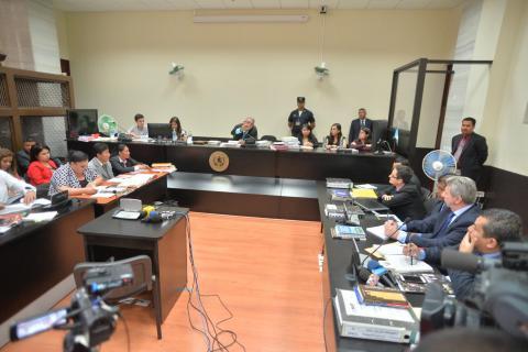 Suspenden audiencia del Caso La Línea para que se resuelvan recursos