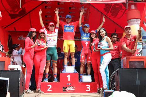 El tico Román Villalobos se corona bicampeón de la Vuelta a Guatemala