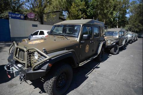Los nuevos Jeep de la PNC: modernos, bonitos y de última tecnología