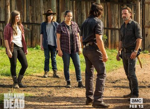 """The Walking Dead"": nueva temporada será tan violenta como la anterior"
