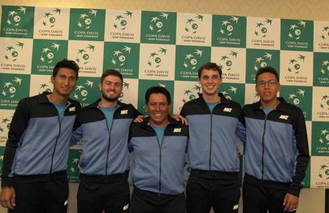 Todo listo para el duelo entre Guatemala y México en Copa Davis 2014