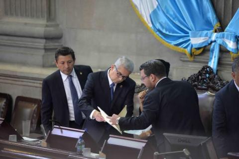 Así fue la sesión plenaria para elegir a sustituto de Baldetti