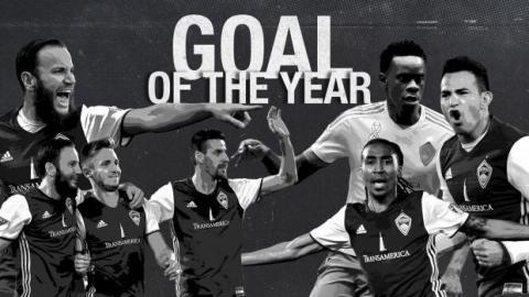 Colorado Rapids nomina a Marco Pappa para el mejor gol del año