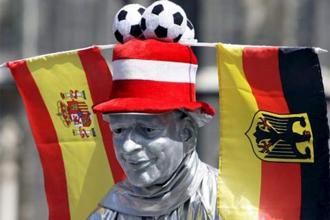 España ante Alemania, los dos últimos campeones del mundo