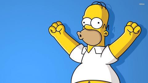 Homero Simpson responderá preguntas en vivo en las redes sociales