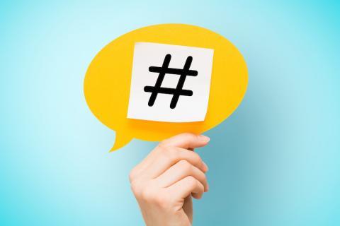 """La insoportable """"hashtaguización"""" de la red"""